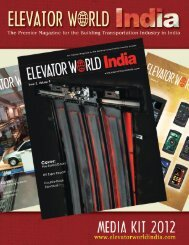 Advertising Rates - Elevator World