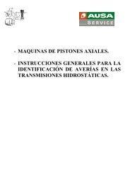 - MAQUINAS DE PISTONES AXIALES. - INSTRUCCIONES ...