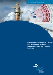 Guidance on Environmental Liability Risk Assessment, Residuals ...