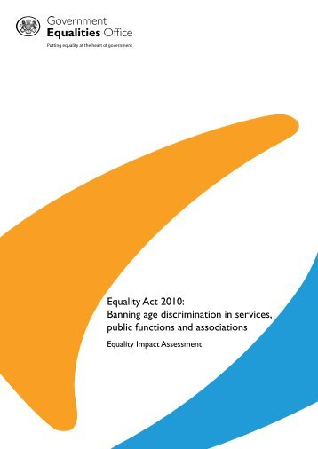 Equality Impact Assessment - Putting equality at the heart of ...