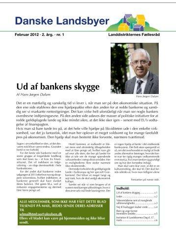 Danske Landsbyer, Februar 2012 - Nr. 1 - Hornum og Omegn