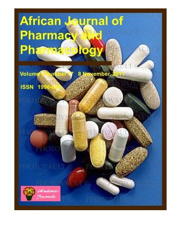 Download Complete Issue (3090kb) - Academic Journals