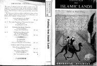 ORIENTAL STUD A - Islamic manuscripts