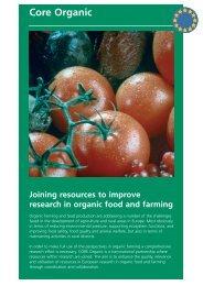 Download leaflet - CORE Organic