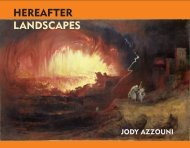 HEREAFTER LANDSCAPES - Poet's Press