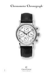 Chronometer Chronograph - Luxury Territory