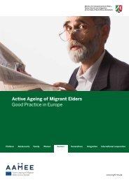 Active Ageing of Migrant Elders Good Practice in Europe - aamee