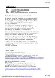 mail@arabmedical Page 1 of 6 08/09/2006 CAABU British ...