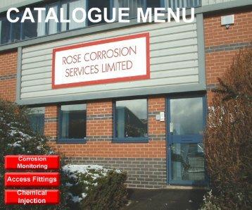 RCSL Product Catalogue - Rose Corrosion Services Ltd