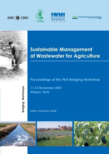 Sustainable Management of Wastewater for Agriculture - UNW-AIS