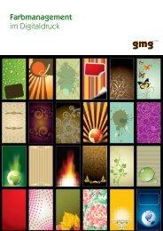 Farbmanagement im Digitaldruck - GMG Color
