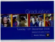 In this booklet - Library - University of Wollongong