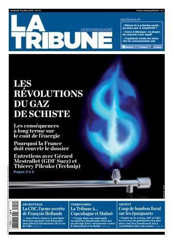 LES révoLutionS du GAZ dE SchiStE - La Tribune