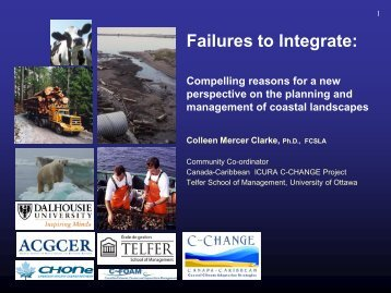 Failures to Integrate: - C-Change | Coastal Climate Adaptation ...