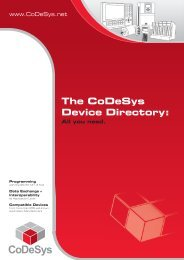 The CoDeSys Device Directory: All you need. - SKS