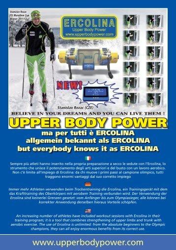 UPPER BODY POWER - Ski-Nordik