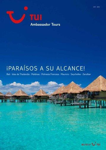 ¡PARAÍSOS A SU ALCANCE! - Ambassador Tours