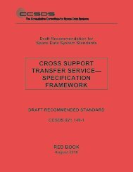 CCSDS 921.1-R-1, Cross Support Transfer Service—Specification ...