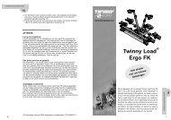 Handleiding Ergo FK - Twinny Load