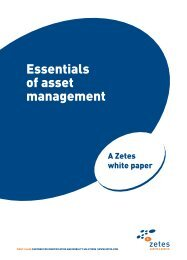 Essentials of asset management - Zetes
