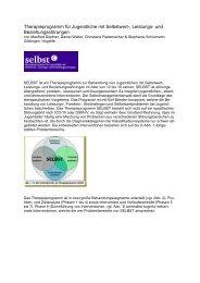 Therapieprogramm für Jugendliche mit Selbstwert-, Leistungs- und ...