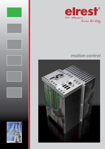 motion control - Elrest