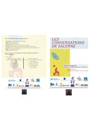 Livret pédagogique - CHU Marseille