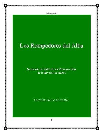 Los Rompedores del Alba - Bahá'í - Puerto Rico