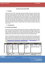 Analisis Media Februari 2012 - Kalyanamitra
