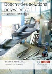 Bosch : des solutions polyvalentes.