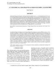 a categorical constraints guided matching algorithm - Société ...