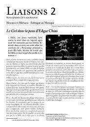 Liaisons 2 web - hecho en méxico - lyon - du 9 mai au 9 juin 2011