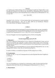 Ordnung zur Änderung der Studienordnung für den Studiengang ...