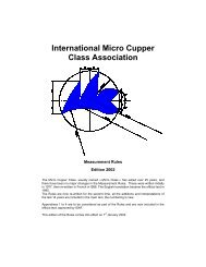 International Micro Cupper Class Association