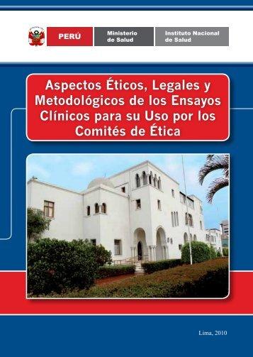 Aspectos Éticos, Legales y Metodológicos de los Ensayos Clínicos ...