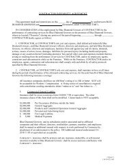 CONTRACTOR INDEMNITY AGREEMENT I. - Blue Diamond Growers