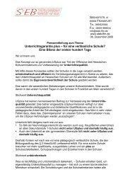 Unterrichtsgarantie plus – für eine verlässliche Schule? Eine Bilanz ...