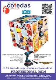 catalogo promocion profesional cofedas 2014