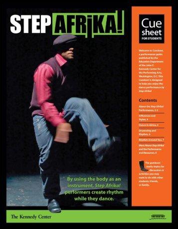Step Afrika CueSheetV3WEB.pdf - Broward Center for the ...