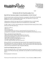 Rev: February 2002 EM8 - Disability Rights Texas