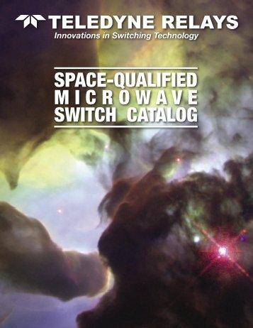 Space Catalog v6.indd - Teledyne Relays
