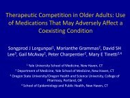 Therapeutic Competition in Older Adults - American Geriatrics Society