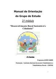 Manual de Orientação do Grupo de Estudo 1º módulo - Contag