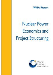 Download the pdf - World Nuclear Association
