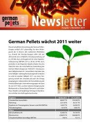 German Pellets wächst 2011 weiter - German Pellets Genussrechte ...