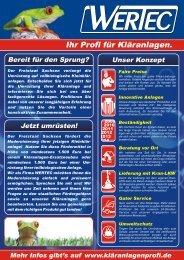 flyer-foerderung - Ihr Profi für Kleinkläranlagen.