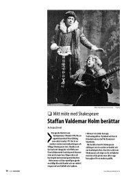 Staffan Valdemar Holm berättar
