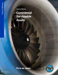 Commercial Serviceable Assets - Pratt & Whitney