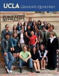 Graduate Quarterly - Spring 2011 - UCLA Graduate Division