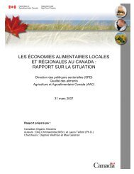 Section Texte Title - Agriculture et Agroalimentaire Canada